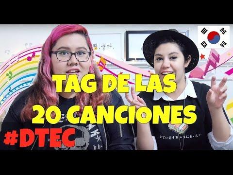TAG DE LAS 20 CANCIONES ♥ #DTEC