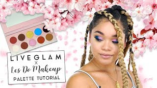 Les Do Makeup x LiveGlam Palette: Summer Makeup Tutorial!