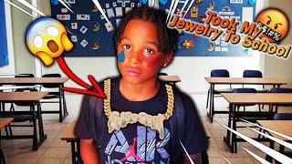 My Son Took My Jewelry To School Prank! (BAD IDEA)