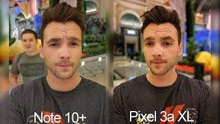 Note 10+ vs. Google Pixel 3a XL Real World Camera Comparison Test!