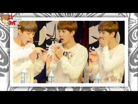 [FANMADE] 121002 Út cưng - EXO Sehun ♥ Cute Maknae!