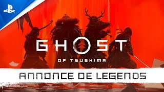Ghost of tsushima: legends :  bande-annonce