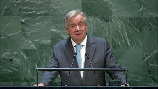 Let's Combine Efforts to Achieve our Aims as the United Nations'- UN chief at 75th anniversary