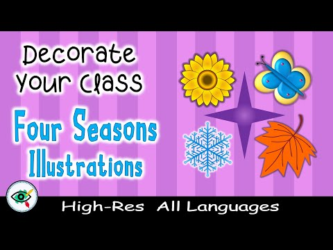 video Four Seasons Clipart