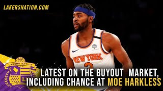 Latest On Buyout Market & Lakers Pursuit Of Moe Harkless