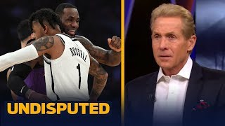 D'Angelo Russell would be the worst fit for LeBron & the Lakers — Skip Bayless   NBA   UNDISPUTED