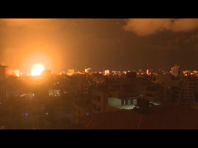 飛彈、火箭劃破加薩天空 以巴領土衝突已釀至少70死