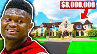 What NBA Players Bought With FIRST Check (Zion Williamson, Luka Doncic, Chris Paul)