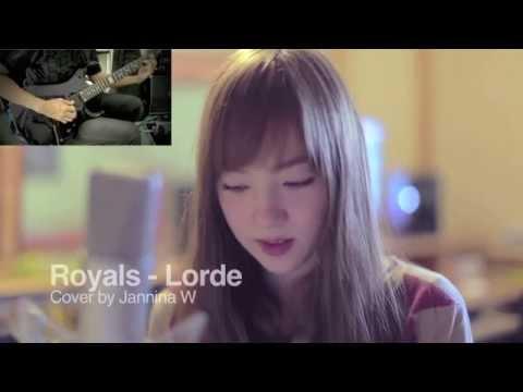 Baixar Royals(Rock Version)  - lorde Cover by 13 y/o Jannina W