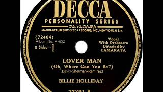 Billie Holiday - Lover Man (Oh, Where Can You Be)