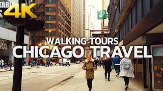 CHICAGO TRAVEL - USA, WALKING TOUR (2 HOURS 15 MINUTES), 4K(60FPS) - UHD