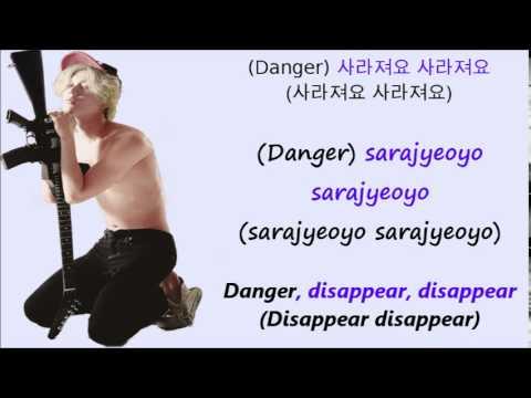 Taemin Danger[Han+Rom+Eng Lyrics]