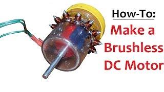 How to Make a Brushless DC Motor Inrunner