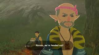 Final Tarrey Town Guests The Legend Of Zelda Breath Of The Wild
