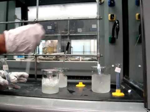 Nitration of Methyl Benzoate part I CHEM2050