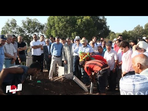 جنازة القيادي الإتحادي الحبيب الشرقاوي بالرباط