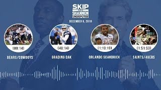 Bears/Cowboys, Grading Dak, Orlando Scandrick, Saints/49ers | UNDISPUTED Audio Podcast