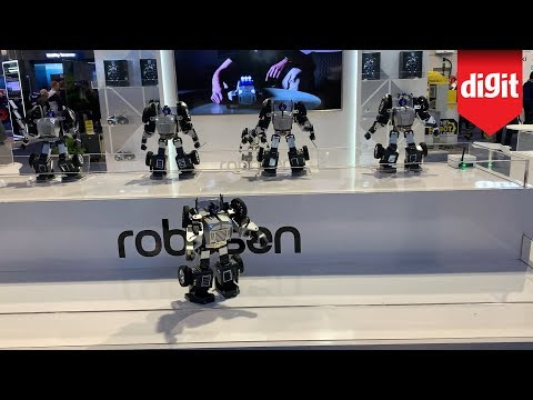 Check Out The Robosen T9 Auto-Transforming Programmable Robot Moves : From CES 2020