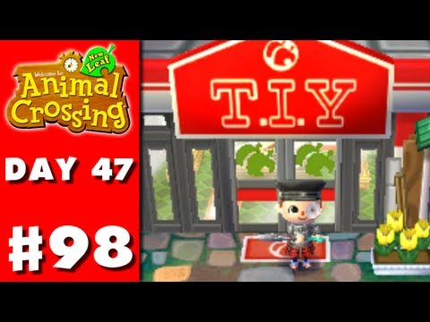 Animal Crossing: New Leaf - Part 98 - T.I.Y. (Nintendo 3DS Gameplay Walkthrough Day 47) - Smashpipe Games
