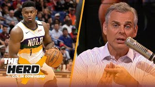 Zion's self-awareness sets him apart, Colin thinks KD is set up to fail with Nets | NBA | THE HERD