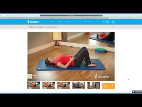 Introducing BackChat by Telespine: Back Pain Relief Video Program