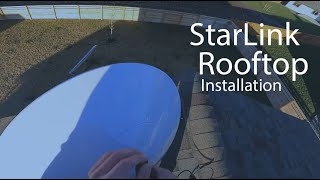 StarLink Rooftop Installation - Starlink Volcano Roof Mount - Part 1