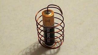 DIY: How To Make a Simple Homopolar Motor