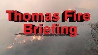 LIVE: Thomas Fire community town hall meeting - 4:00 p.m. 12/15/17