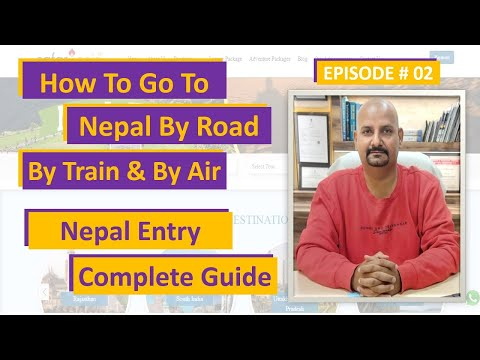 How To Go To Nepal From India | Hyderabad To Nepal | Kolkata To Nepal