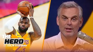 Colin Cowherd predicts which Lakers will rejoin LeBron James next season | NBA | THE HERD
