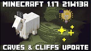 Minecraft 1.17 - Snapshot 21w13a - Goats & Light Block!