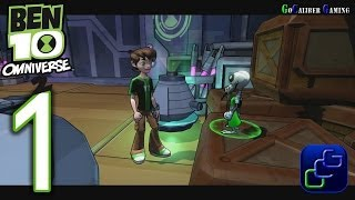 Ben 10 Omniverse 2 Walkthrough - Gameplay Part 1 - Learning the Ropes, Stow Away