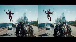 Phim Hay VR | Phim cho kính thực tế ảo- Transformers 3D SBS VR