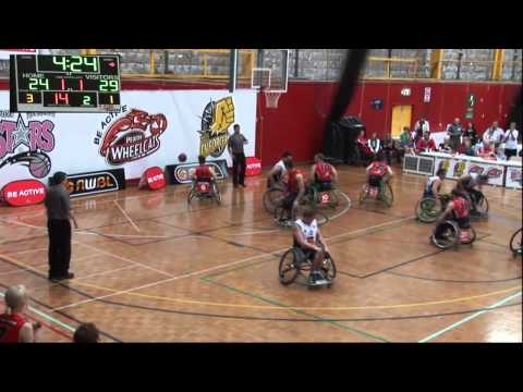 National Wheelchair Basketball League - Grand Final 2014