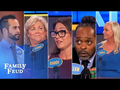 Family Feud's BEST BLOOPERS and EPIC...