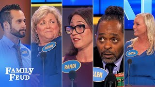Family Feud's BEST BLOOPERS and EPIC FAILS!!! | Part 11