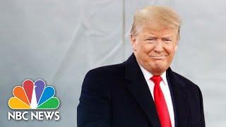 Trump Hosts U.S. Mayors At White House | NBC News (Live Stream)