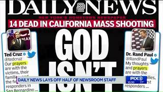 NY Daily News slashes staff in half; Gov. Cuomo offers state help to avert cuts
