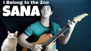 """""""SANA""""   I Belong to the Zoo (Fingerstyle Guitar Cover)"""