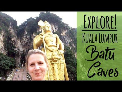272 Steps to the Batu Caves in Kuala Lumpur