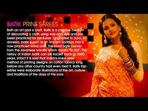 Batik Printed Sarees Online