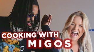 Migos Makes Stir Fry With Tasty (Behind The Scenes)