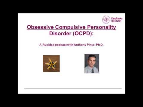 Obssesive Personality Disorder