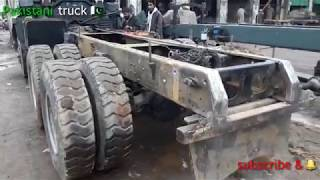 How to make and repairing a Nissan diesel dumper