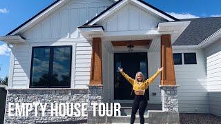 Empty House Tour // Modern Farmhouse 2019