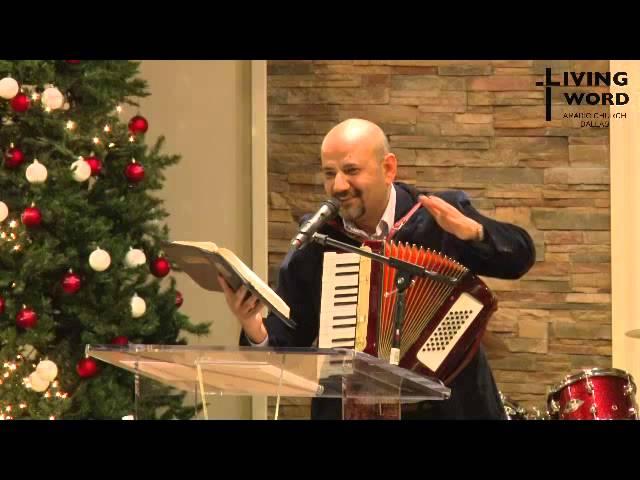 Hani Romani at Living Word Arabic Church Dallas