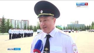 В Омской академии МВД сегодня выпускной