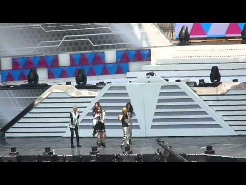 Fancam 110528 f(x) rehearsal @ Dream Concert
