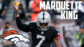 """Marquette King    """"Welcome to Denver!""""    Career Highlights"""
