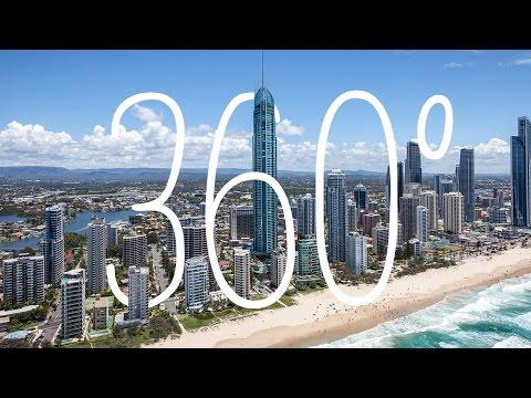 360: Gold Coast, Queensland, SkyPoint, Australia